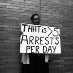 That is more than 5 arrests per day.