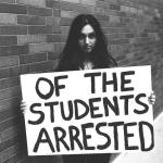 Of the students arrested ...