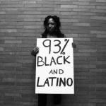 ... 93% black and latino ...