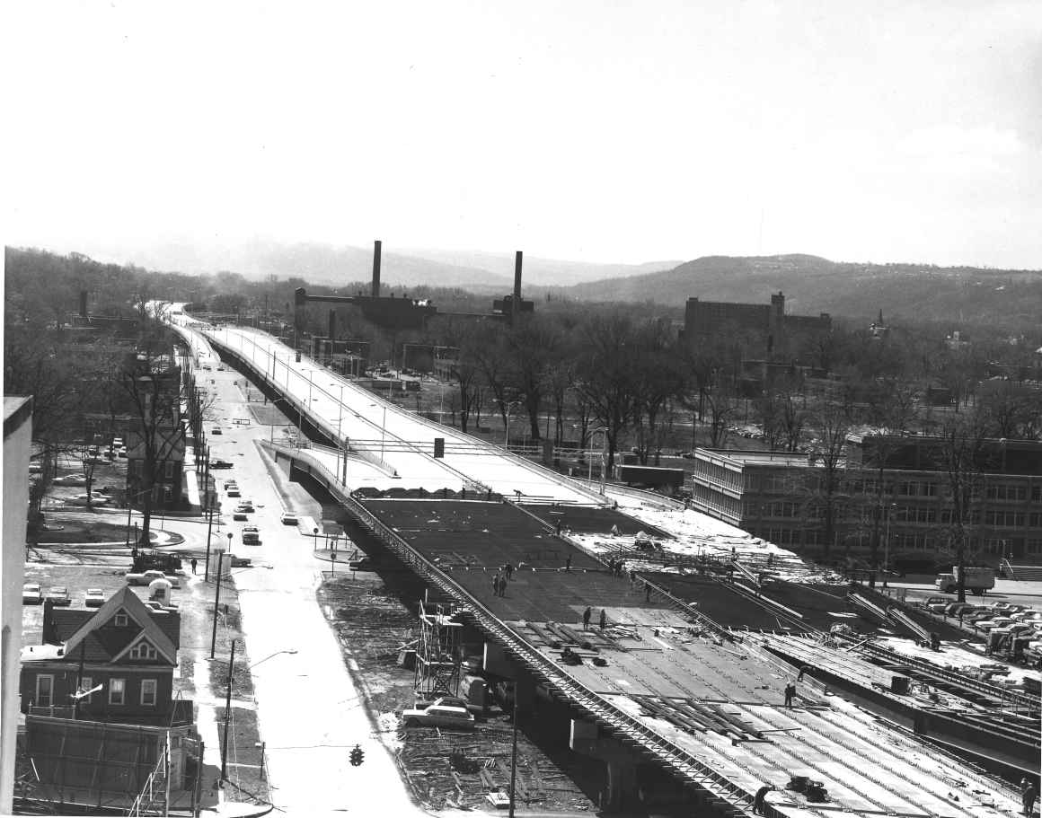 Interstate 81 construction - circa 1966 or 1967