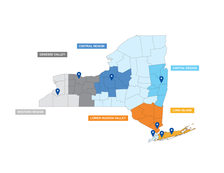 NYCLU Legal Intake Map