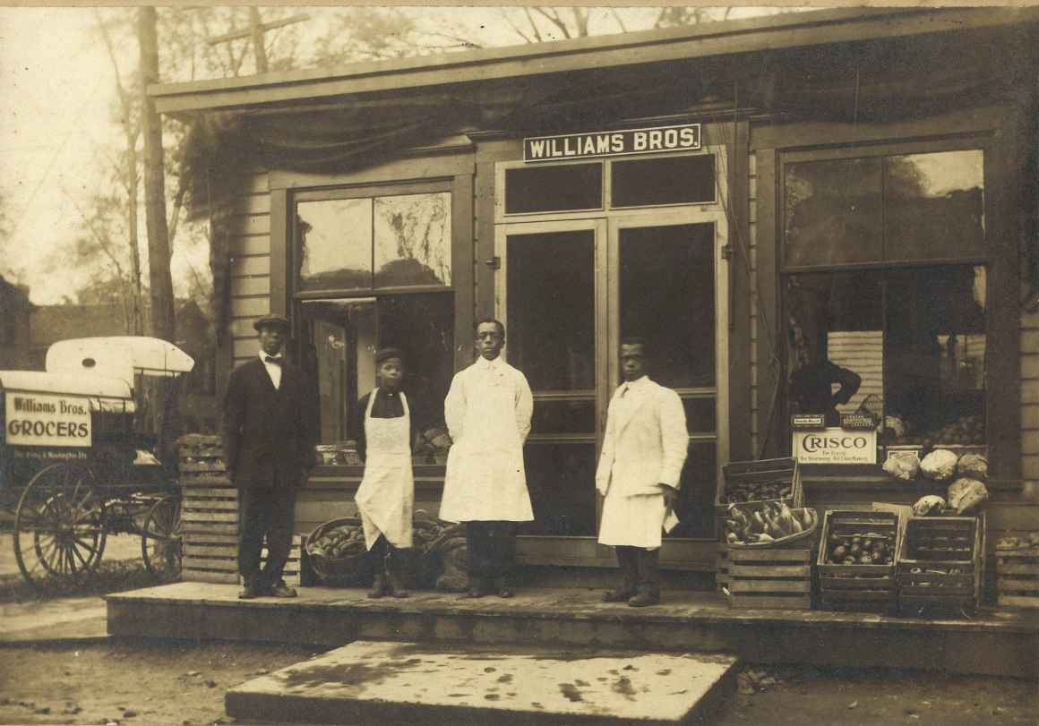Williams Brothers - Grocers - corner of E Washington St and Irving Ave.jpg