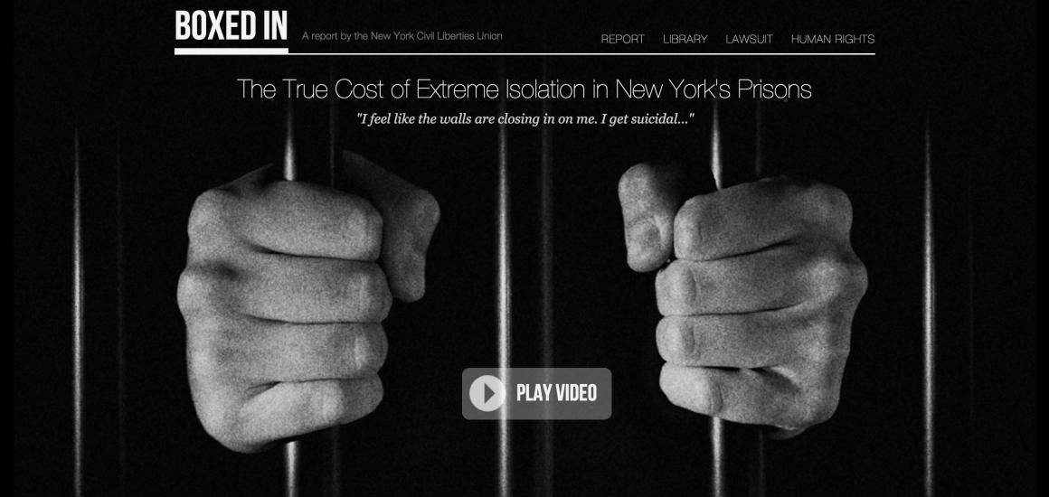 Historic Settlement Overhauls Solitary Confinement In New York New