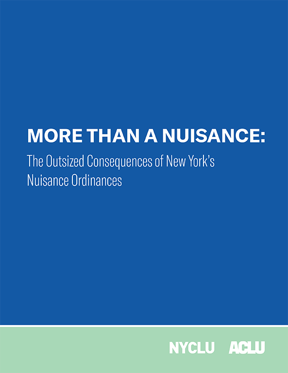 More Than A Nuisance Report (2018)
