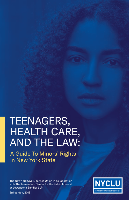Teenagers, Healthcare and the Law