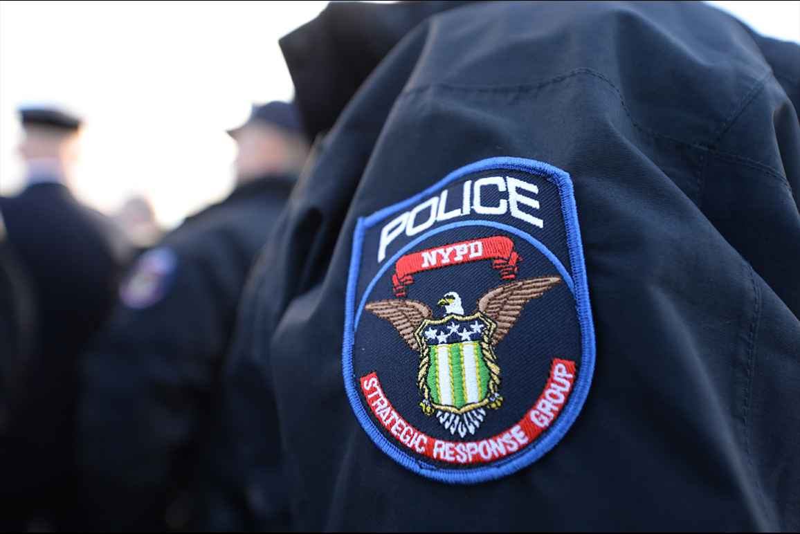 NYPD policing SRG strategic response group