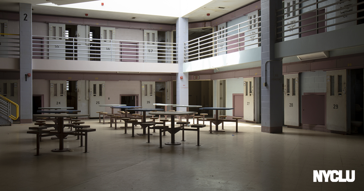 Common room of a jail