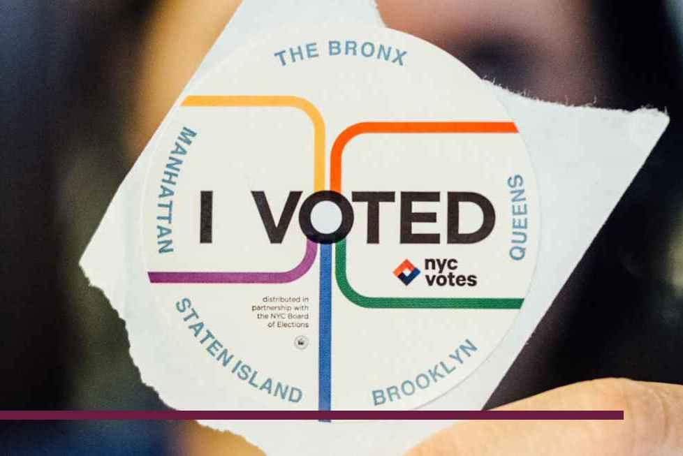 Voting in New York, Sticker