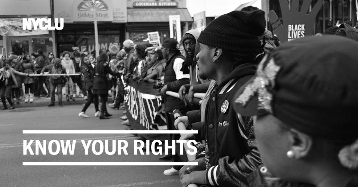 Your Rights to Protest NY