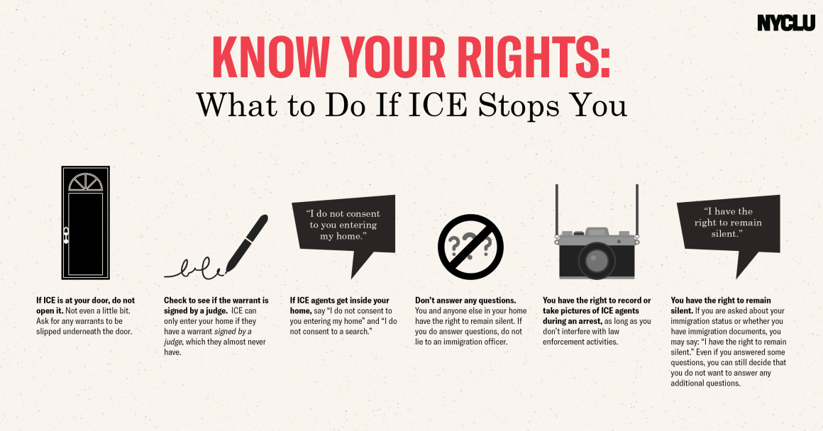 Know Your Rights: What to Do if ICE Stops You