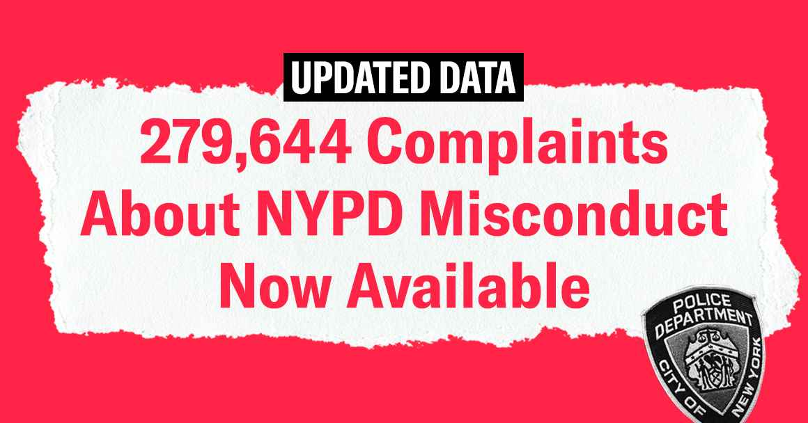 NYPD Police Misconduct Records
