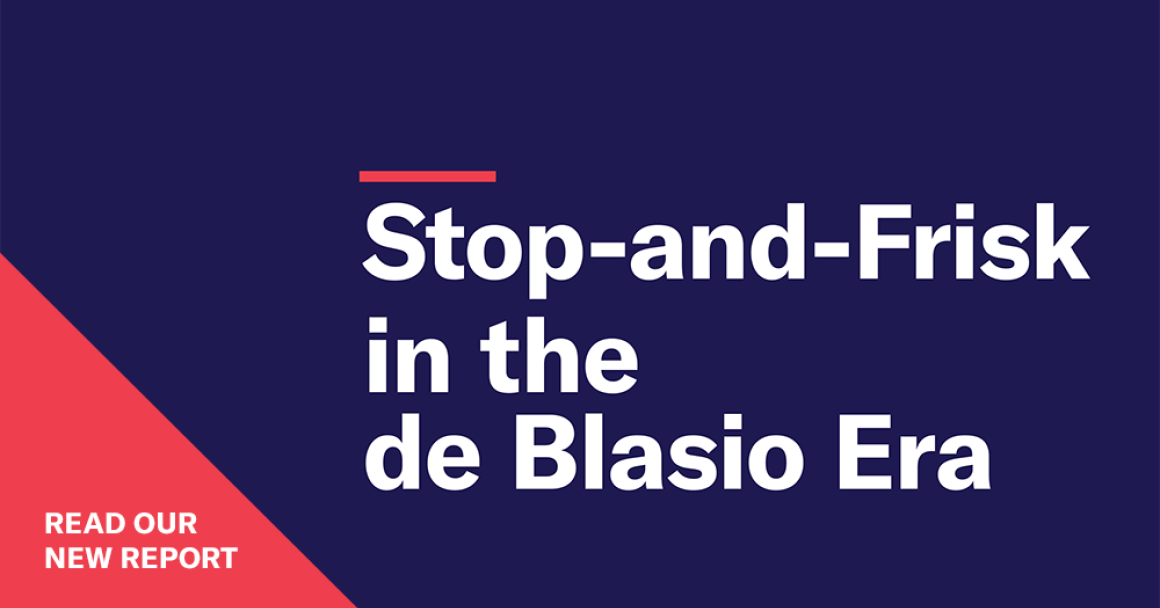 Stop-and-Frisk 2019 Report