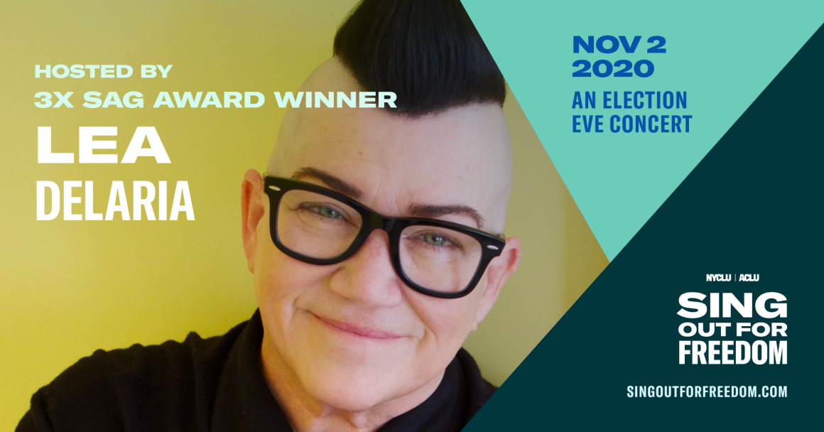 Sing Out for Freedom Lea Delaria
